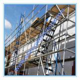 Échafaudage approuvé de Layher Ringlock de la CE sûre pour la construction
