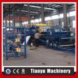 EPS ou linha de produção preço do painel do telhado do sanduíche de lãs de rocha da máquina feito em China