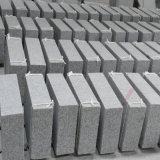Naturales gris granito flameado gruesas Azulejos Pavimentos de exterior