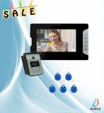 Vidéo surveillance visuelle de téléphone de porte de sonnette de garantie électronique