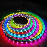 Farbenreicher SMD5050 Streifen des RGB-IP65 Chip-60LEDs 18W DC12V LED