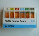 Puntas de papel absorbentes dentales de la alta calidad y de la venta 0.06 caliente
