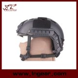 Nvg 마운트 & 보조 궤도 Airsoft 전술상 헬멧을%s 가진 빠른 군 PJ 헬멧