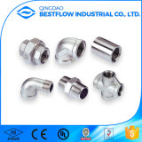 ANSI Stainless Steel Screwed Pipe Fitting com 1/8 Inch-4 Inchi
