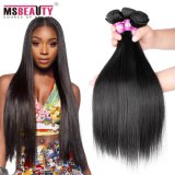 Máquinas feitas Wefts Remy Hair Weave, Virgin Brazilian Human Hair