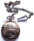 Chaîne de montre Pocket antique faite sur commande de quartz