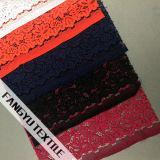 Bello e tessuto Colourful del merletto di disegno del fiore