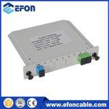 Gpon Epon ONU 1X2の安い価格の光学ディバイダー1X8 PLCのディバイダー