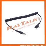 Связанный проволокой шлемофон связи типа держателя связи противошумный