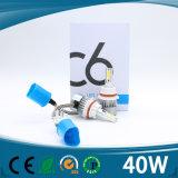 Super helles H1 H3 H4 H7 H8 H9 H11 9005 9006 40W 4500lm PFEILER Selbst-LED Scheinwerfer