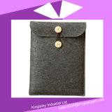 iPadの昇進の製品P016A-011のための新しいデザインフェルト袋