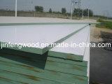 ISO9001: 2008高品質の緑のコア水証拠のメラミンMDF