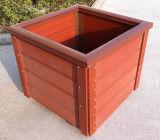反ひびのシロアリ自由なプラントボックス緑WPCの庭の花ボックスプラント鍋