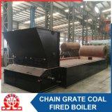 Caldeira despedida carvão com grelha Chain