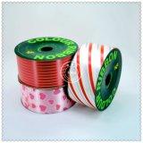 Ventas al por mayor de la Navidad imprimió la cinta roja hermosa para el Festival