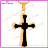Querer hängender GroßhandelsEdelstahl-hängende Halsketten-Form-Schmucksache-Urne-Halskette (IJD8023)