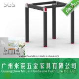 Zeitgenössischer einfacher Entwurfs-Edelstahl-Bein-Vermittlungs-Tisch