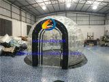 De opblaasbare Transparante Tent van de Ellips