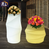 Ваза цветка вазы пластичная СИД декоративного освещения