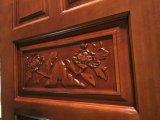 Type de porte d'entrée et fini Surface Porte en bois massif (GSP2-013)