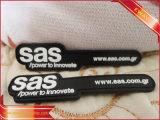 Étiquette en caoutchouc de couture de bâton de vêtement en caoutchouc d'étiquette