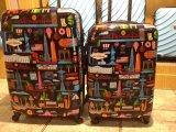 Polycarbonat-Gepäck 100% rein mit Pirnt