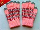 暖かい冬のタッチ画面の手袋