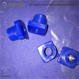 Joint de pipe multi bleu de silicones de fonction d'acier inoxydable