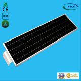 Cer 25W u. RoHS Diplom-integrierter LED Solargarten des PIR Fühler-/Straßenlaterne