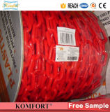 Red & Yellow PE Warning Plastic Chain Barrier Roadway Traffic Plastic Chain
