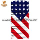 Bandanas Multifunctional impressos originais feitos sob encomenda do lenço da bandeira nacional