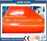 Tôle d'acier enduite d'une première couche de peinture de Galvalume ASTM A755m