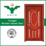 Einfacher Entwurf der Furnier-Blattfurnierholz-Tür