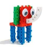 14885508-4 chez 1 animal a changé le jouet créateur éducatif 32PCS réglé par blocs (le crabot du nécessaire DIY de bloc d'autruche d'éléphant de grenouille)