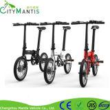 Vélo électrique pliable de scooter de certificat électrique de la CE