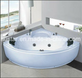 Jacuzzi de canto de 1300mm com Ce e RoHS (AT-8309)
