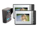 Die 4 Draht-Wechselsprechanlage-videotür-Telefon-geben videotürklingel-Hand Monitor frei
