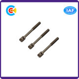 Pin головки цилиндра штанги стали углерода прорезанный Leal/винт с отверстием
