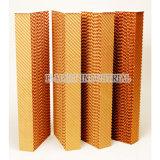 Garniture humide de papier montée par guichet de refroidisseur évaporatif de mur