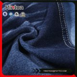 97%Cotton 3%Spandex Blauwe Kleur Franse Terry Knitting Denim Fabric