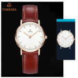3ATM waterdicht Horloge, Daniel Leather Strap Dw Style Watch71257