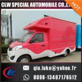 Cn Chine Innovation Nouveaux produits alimentaires extérieurs Van Truck Mobile Shopping Panier alimentaire pour glaces Opcorn Chips Snack Machine Kiosk Design