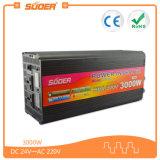 Inverter des Suoer Inverter-24V 220V mit Aufladeeinheit (HAD-3000D)