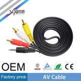 Sipu Wholesale 3RCA à 3RCA 3.5mm Audio Plug AV Cable