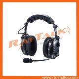 Verdrahteter Kommunikations-Stirnband-Art-Geräuschunterdrückungskommunikations-Kopfhörer