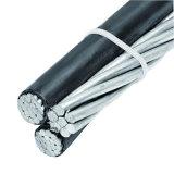 Nuevo cable eléctrico del manojo del aire