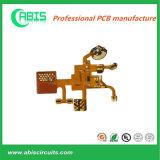 Gekwalificeerd en Qucik Draai Flex PCB van 1 Laag (flex-stijve) ISO, UL, SGS