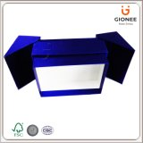 Rectángulo de regalo especial de la cartulina del diseño estructural