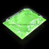 Устранимое пластичное Multi - квадрат цвета зеленый упаковывая для плодоовощ & овоща