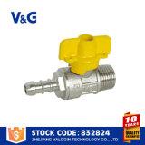 Valvola a sfera inossidabile femminile del gas di olio (VG-A63031)